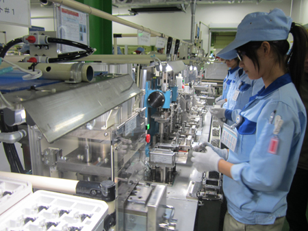 Tuyển gấp 5 nữ kiểm hàng linh kiện ô tô tại Aichi